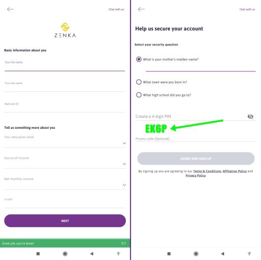 How To Apply For Zenka Loan Using Registration Code Konvigilante
