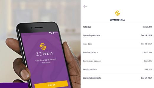 zenka late loan repayment