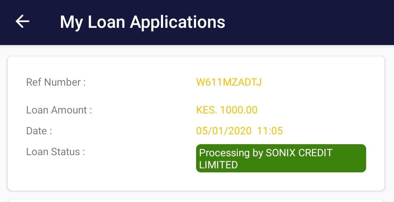 Metrobol Crystobol- Loan Application