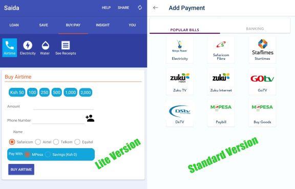 Saida Loan App Payment