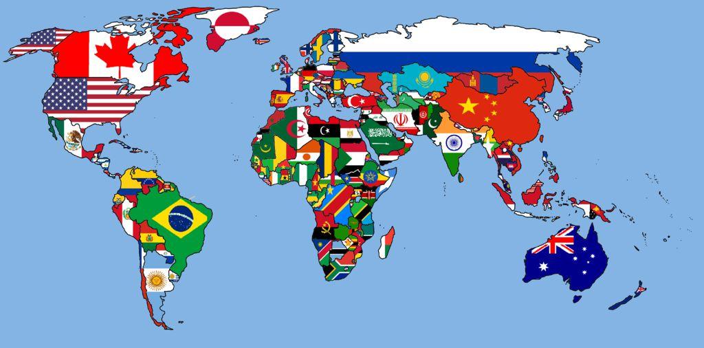 World_Flag_map