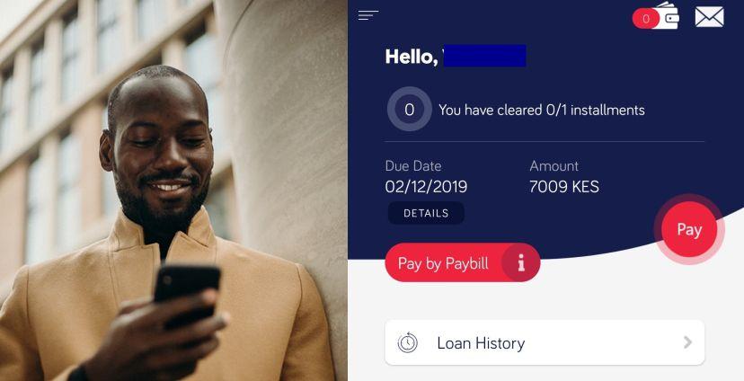 How To Pay Berry Loan Via Mpesa